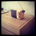 Fair Trade Wooden Radio