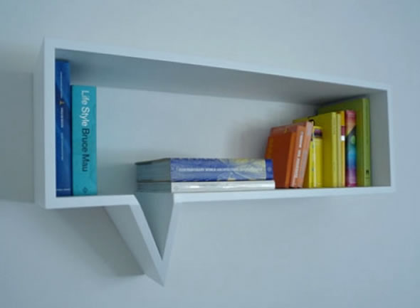 Contemporary quirky and creative home storage 4living blog for Comic book box shelves