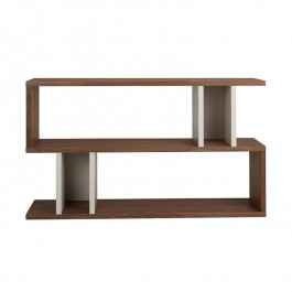 Conran Counter Balance Console Table Walnut and Pebble