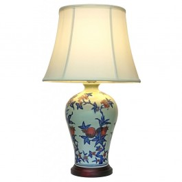Oriental Zhu Fu Table Lamps