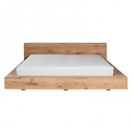 Ethnicraft Oak Low Bed Madra