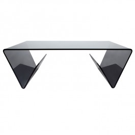 Smoked Glass Coffee Table - Combi