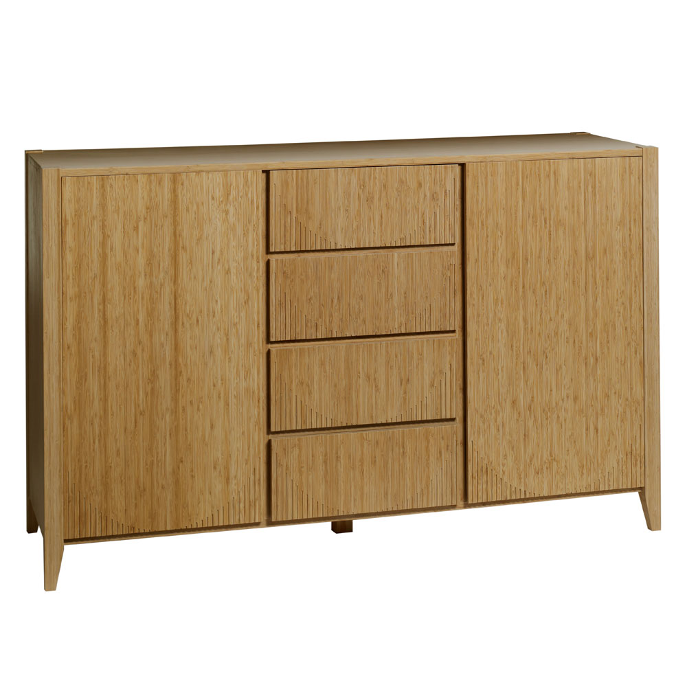 Eco furniture bamboo sideboard natural for Sideboard natur