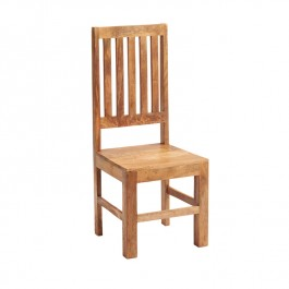 Toko Light Mango Slat Back Dining Chair
