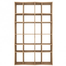 Ethnicraft Oak Shelves Z Rack