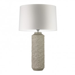 Heathfield Table Lamp Mazu Chalk