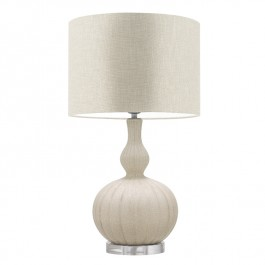 Heathfield Cream Ceramic Table Lamp - Celine