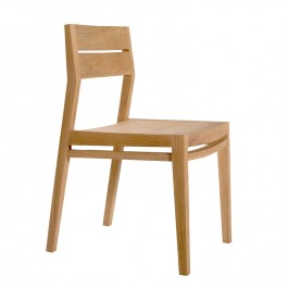 Ethnicraft Oak Dining Chair EX1 Set of 4