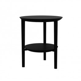 Ethnicraft Oak Black Side Table Bok