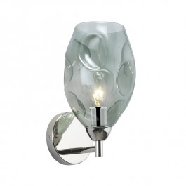 Heathfield Nickel Wall Light Leoni