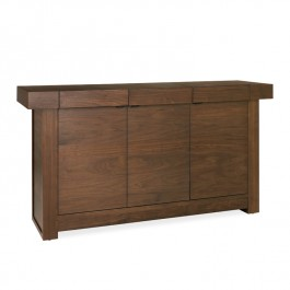 Bentley Wide Walnut Sideboard Akita