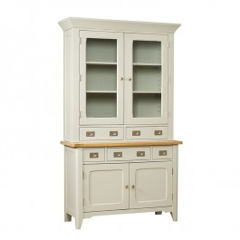 Bordeaux Small Sideboard & Glazed Hutch (2 Door 2 Drawers)