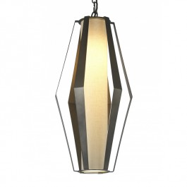 Heathfield Lighting Tall Facet Pendant