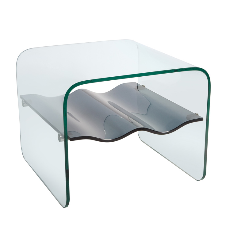 Glass Side Table Trendy Roar Rabbit West