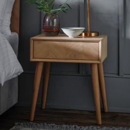 Gallery Milano Side Table With Drawer