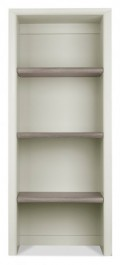 Bergen Washed Oak & Soft Grey Narrow Top Unit