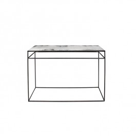Notre Monde Clear Heavy Aged Mirror Console Table