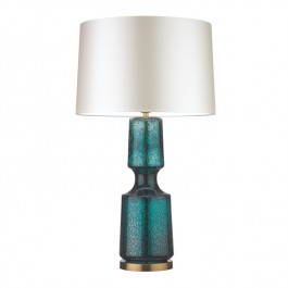 Heathfield Antero Teal Lamp Heathfield