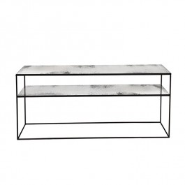 Notre Monde Heavy Aged Clear Sofa Console
