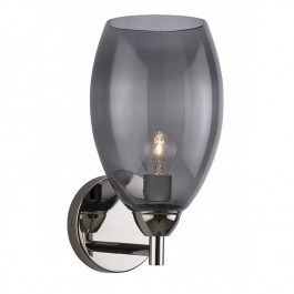 Heathfield Lighting Curzon Smoke Wall Light