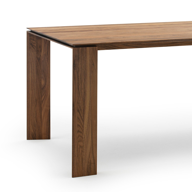 Brand new Solid Walnut Dining Table | Contemporary Dining Furniture From 4Living XF36