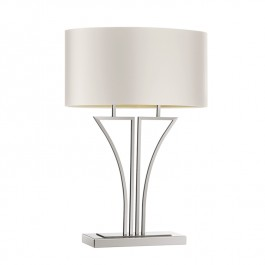 Heathfield Nickel Table Lamp - Yves
