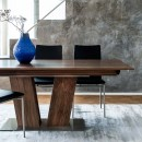 Skovby Walnut Extendining Dining Table #39 (lifestyle, detail)