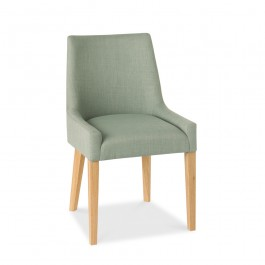 Ella Scoop Back Chair Aqua