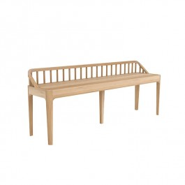 Ethnicraft Oak Spindle Bench