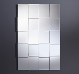 Contemporary Mirror - Grid