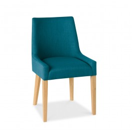 Ella Scoop Back Chair Teal