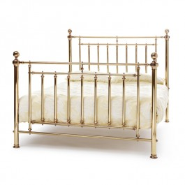 Solomon Antique Brass Bed
