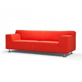 Felt Orange Sofa - Axe