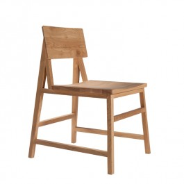 Ethnicraft Oak Dining Chair N1