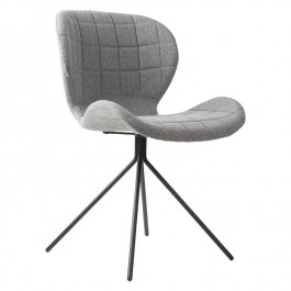Pair of Grey Zuiver OMG Chairs