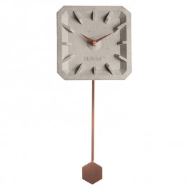 TikTak Time Copper Wall Clock Zuiver