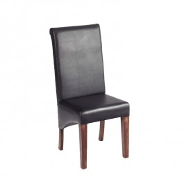 Toko Dark Mango Black Dining Chair