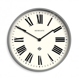 Newgate Wall Clock Italian Grey