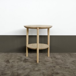 Ethnicraft Oak Side Table Bok