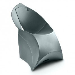 Designer Folding Chair - Flux in Grey