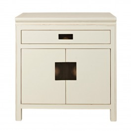 Small White Lacquer Sideboard