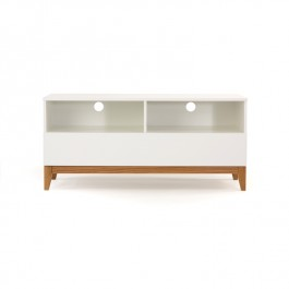 Blanco Wide Media Unit Woodman
