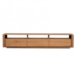 Ethnicraft Oak TV Media Unit Shadow