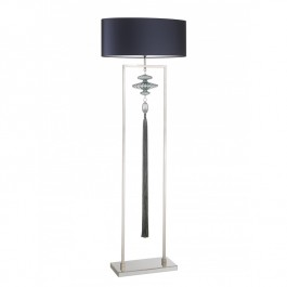 Heathfield Constance Nickel & Sea Jade Floor Lamp