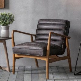 Datsun Armchair Antique Ebony Hudson Living
