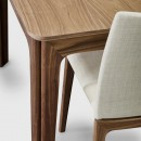 Skovby Walnut Extending Dining Table #26 (detail)