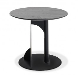 Ethnicraft Bau Black Teak Side Table