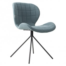 Pair of Blue Zuiver OMG Chairs