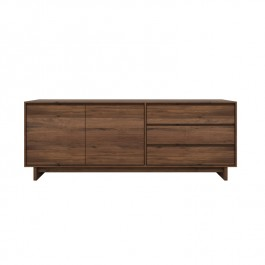 Ethnicraft Walnut Sideboard Wave