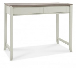 Bergen Oak Desk in Grey Washed & Soft Grey